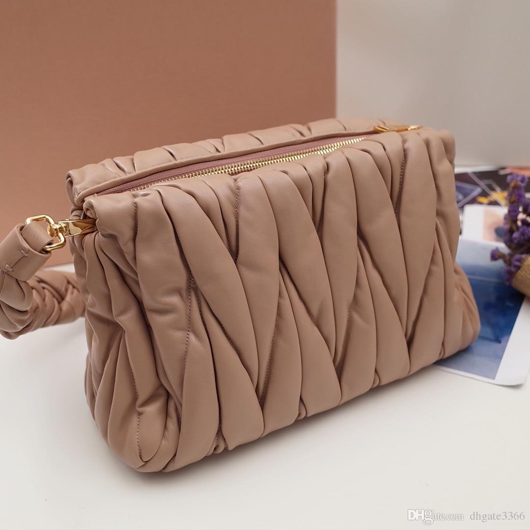 Новых женщин мешок плеча косметический мешок способа сумки роскошь высокого качества корабля оригинальные импортированные овчины съемный оплетка ручки 3 цвета