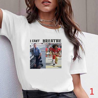 20s Мода лето Женщина тенниска с напечатанным письмом Дышите Женщина Streetwear футболка Top Quality Тис Размер S-3XL PH-YF20632