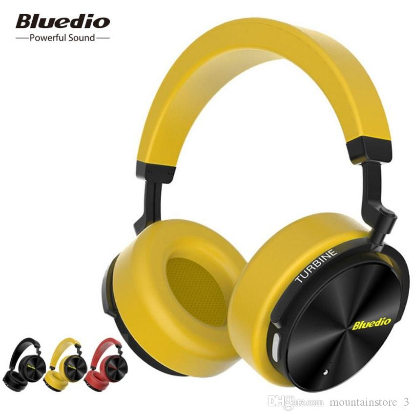 New Bluedio T5 Active Noise Cancelling Wireless Bluetooth Headphones Portable Headset With Microphone For Phones And Music Wireless Cell Phone Headsets Wireless Earphones For Phone From Mountainstore 3 46 24 Dhgate Com