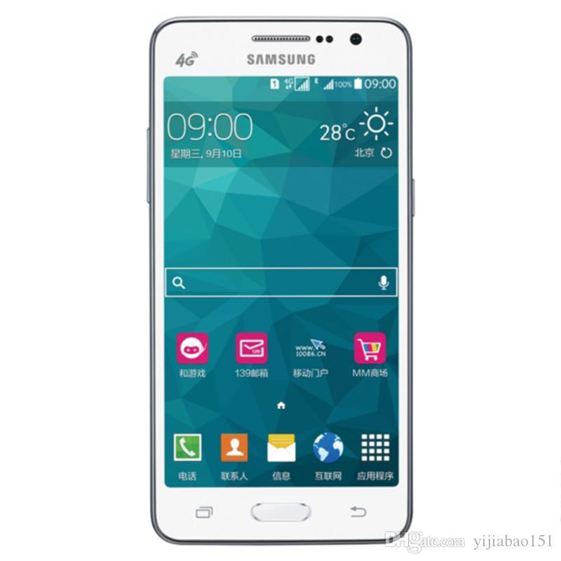 الأصلي تجديد سامسونج غالاكسي 5308W الهاتف الذكي 5 بوصة 1.5G ROM 8G 13.0MP أربعة النواة G LTE فتح