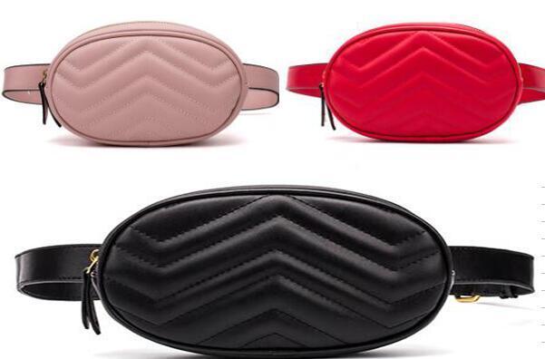 2020 NEW TOP высокого качества PU TOP Марка сумки Waistpacks Кожа Top Brand Проектировщик Бич талии сумка сцепления кошелек дорожные сумки # 558g