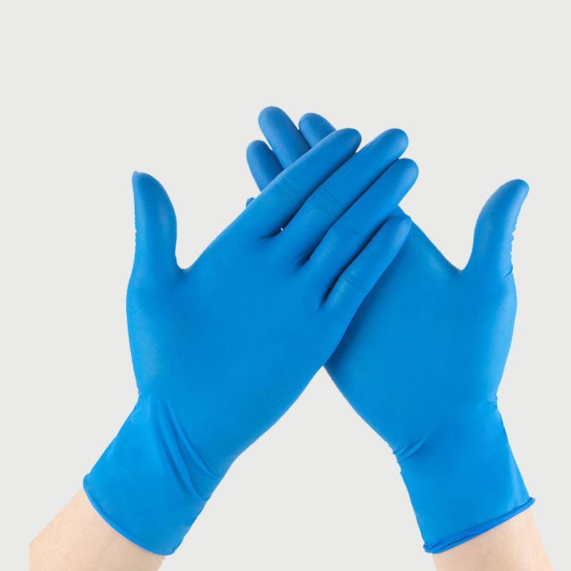 Opsiyonel Hızlı teslimat Yeni Tek Nitril lateks eldiven ospecifications anti-asit eldivenleri B sınıfı lastik eldiven temizleme Eldiven Karşıtı-skid