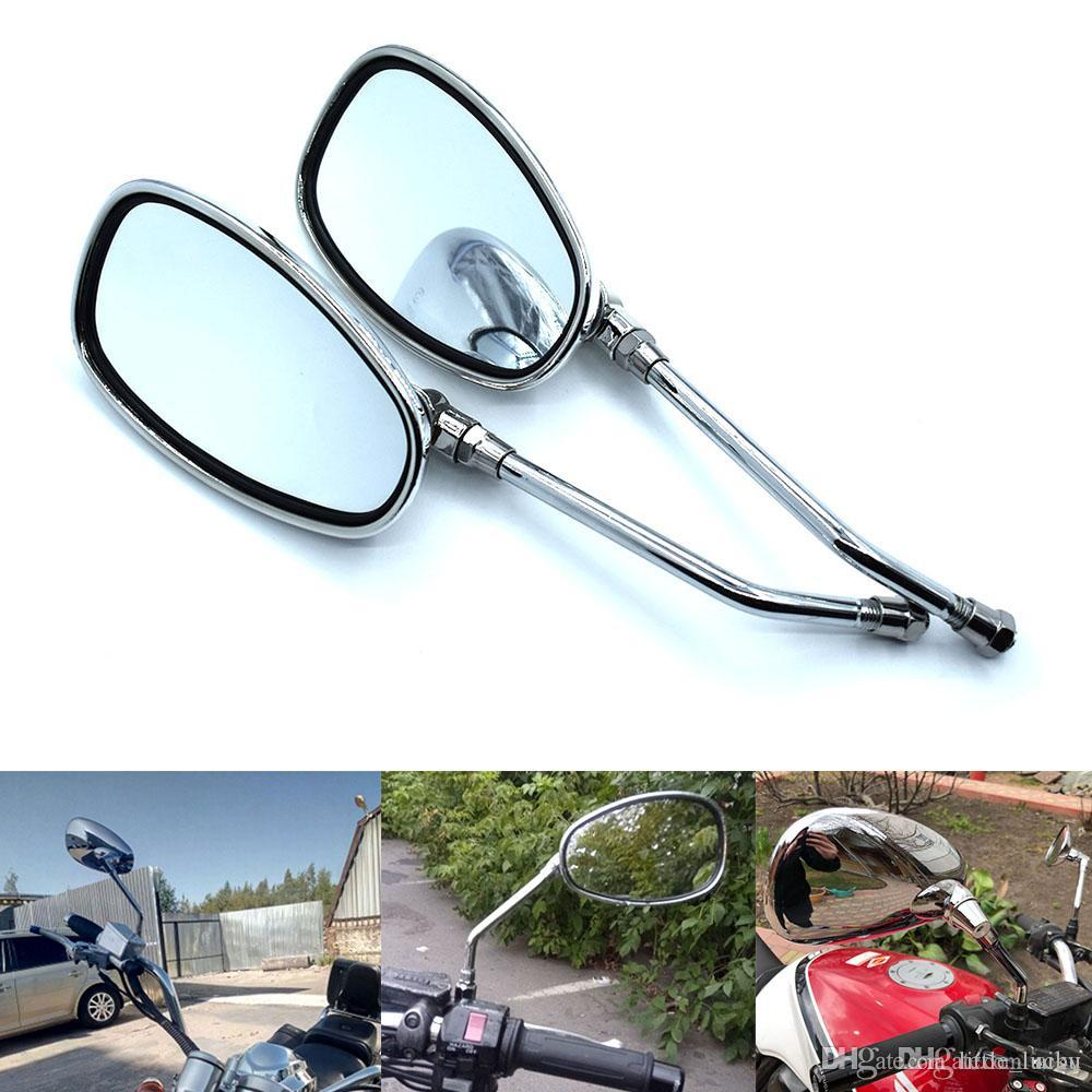 1X Universal Bicycle Bike Bar End Back View Mirror 360° Rotation Rearview Mirror