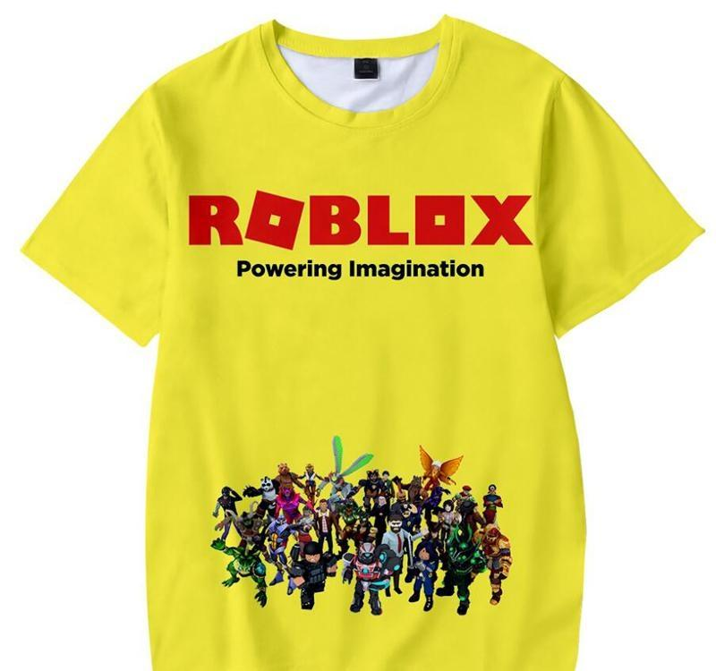 2019 Summer Boys T Shirt Roblox Stardust Ethical 3d Printed