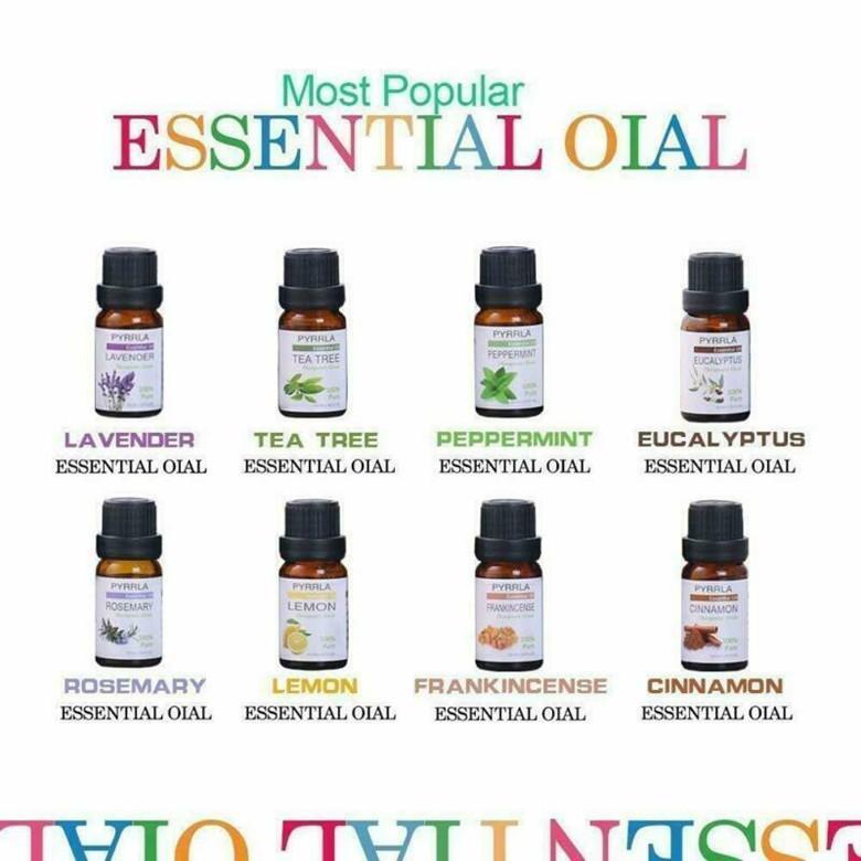 Pyrrla puro orgânico grau terapêutico óleos essenciais 8pcs coleção 10ml conjunto