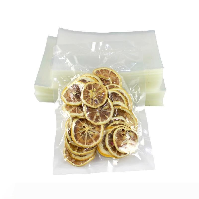 B B alimentari sottovuoto sacchetti di plastica trasparenti Imballaggio Trilaterale piatto Seal e caldo Seal Tea sacchetto della guarnizione