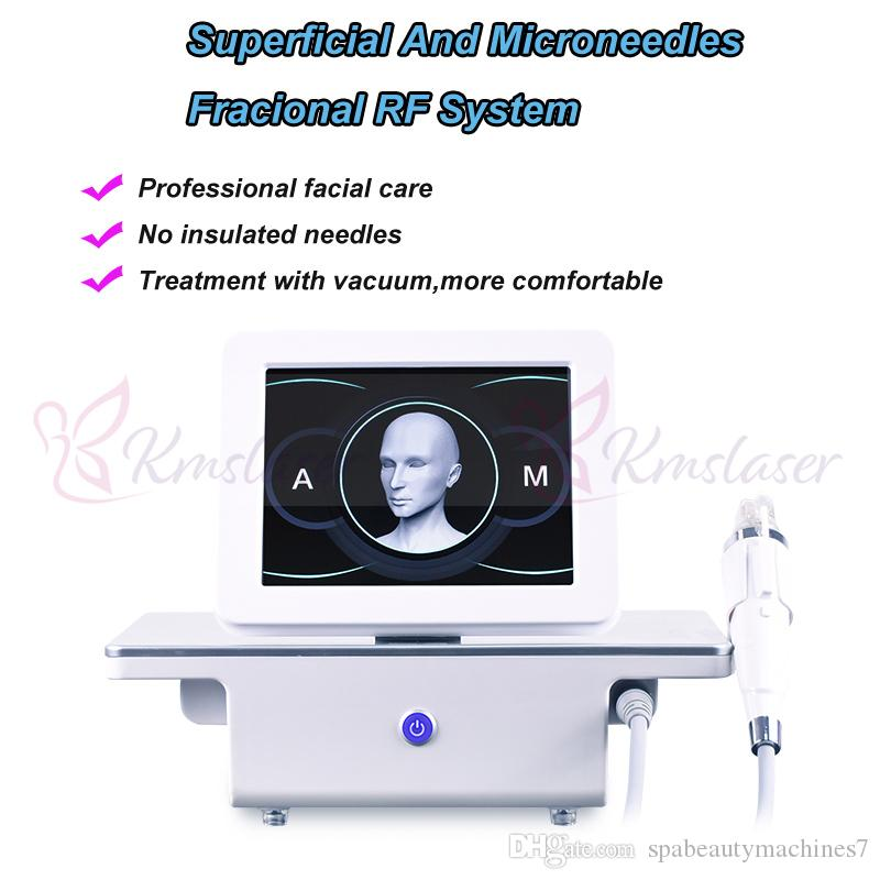 New Design 4 tips Fractional machine microneedle Fractional RF Micro needle Fractional RF Skin Care Tighten Wrinkle Removal Beauty Machine