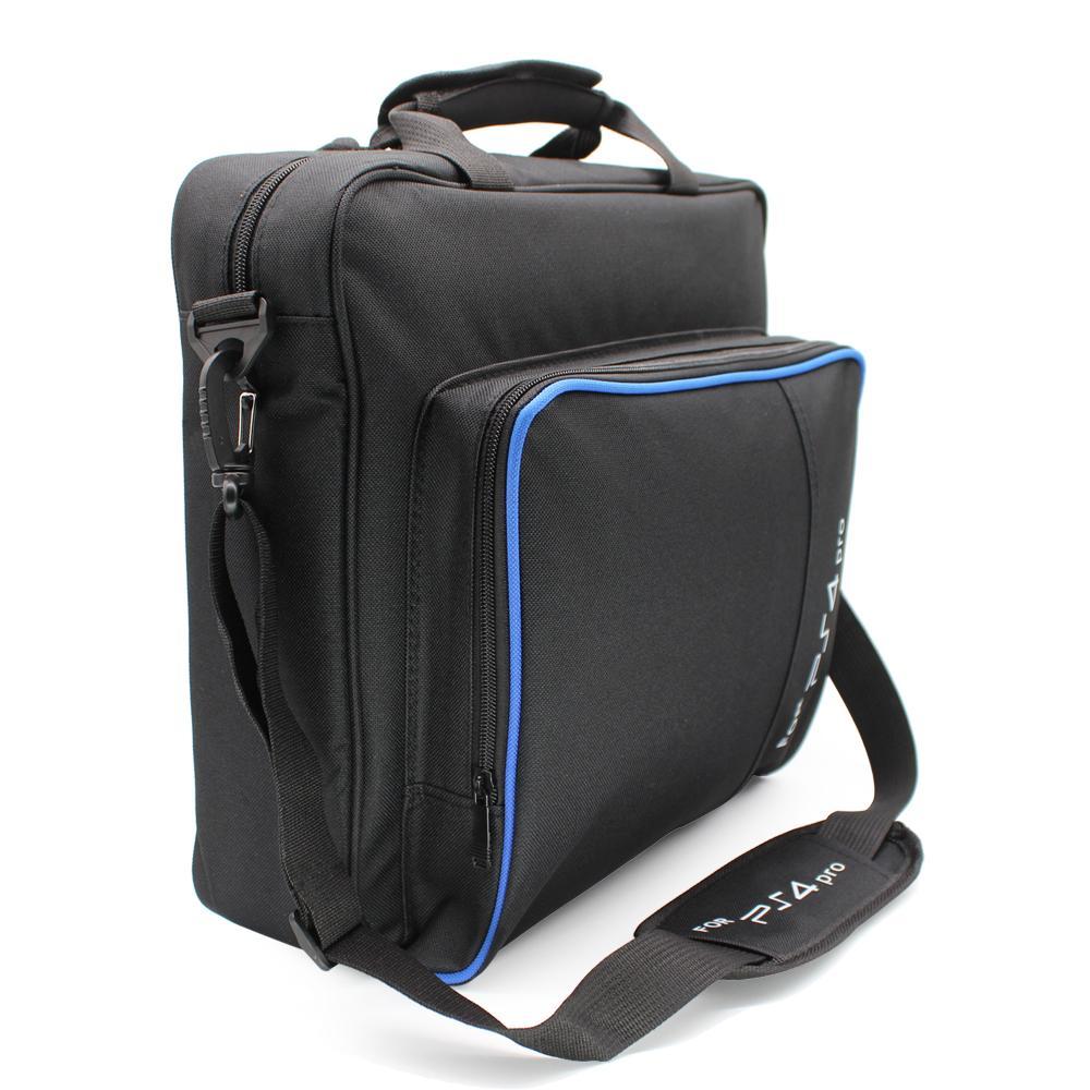 플레이 스테이션 4 PS4 프로 콘솔에 대한 PS4 / PS4 프로 슬림 비디오 게임 가방 캔버스 케이스 보호 숄더 캐리 가방 핸드백