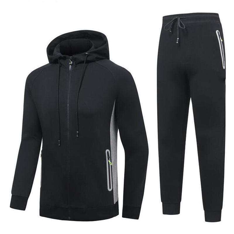 Brand Men's Designer Luxury Tracksuits Autumn Sports Men Spring Autumn Clothes Casual Male Jacket +Pants Set Tracksuit