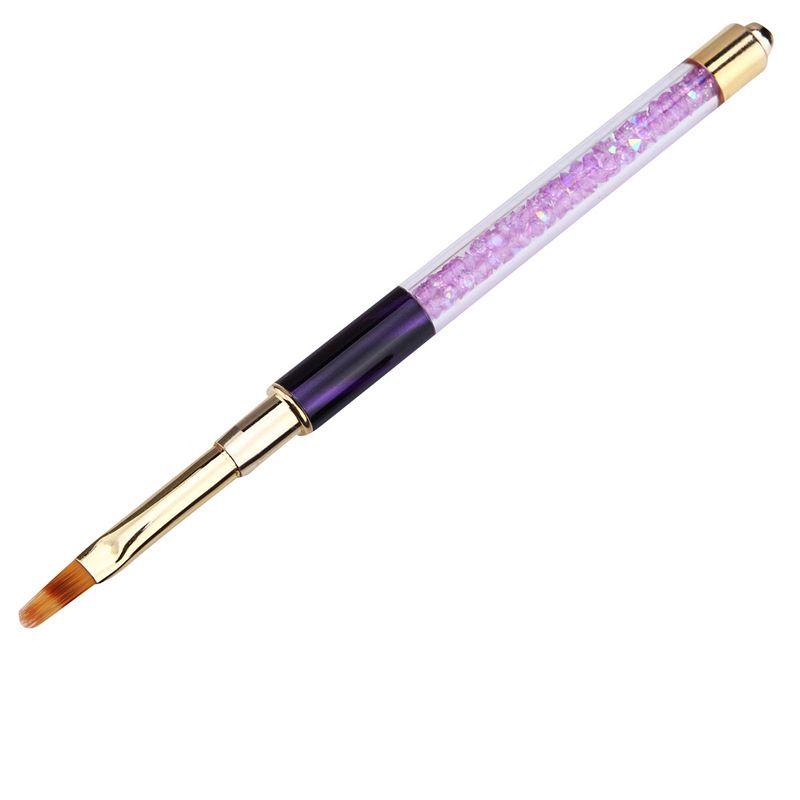 Dotting Tools Nail Art Krits Pen Rhinestone Cat Eye Акриловая ручка Резьба покраска Гель Удлинитель Маникюрный лайнер 02