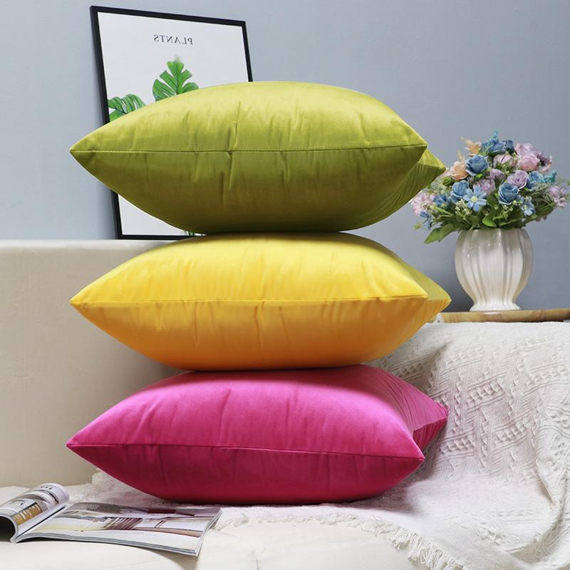 Velvet Cushion Cover Pillow Cover Pillow Case Sofa Throw Pillows for living room sofa