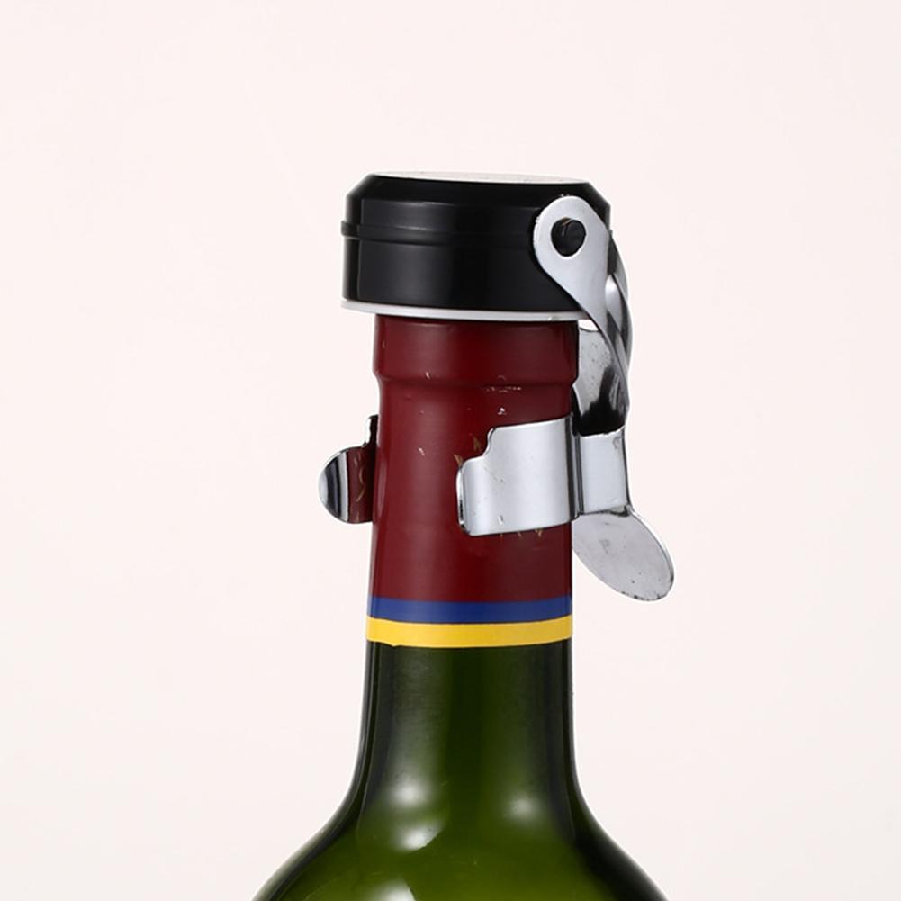 Fiş İçin Prosecco Parti Paslanmaz Kep Şişe Stopper Mutfak Taşınabilir Sealer Şarap Saklama Şampanya Yeniden kullanılabilir Sızdırmazlık