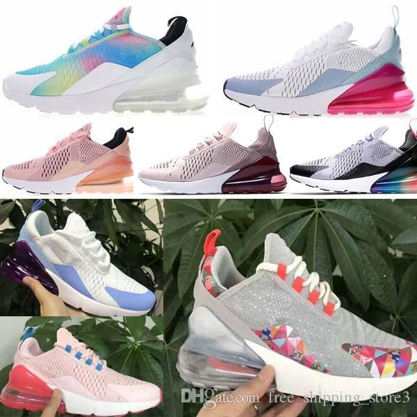 Compre Nike Air Max 270 Airmax 270 Air 270 Mujer Nuevo Estilo Zapatillas De  Deporte Azules Rosadas Zapatillas Deportivas Cómodas, Duraderas Y ...