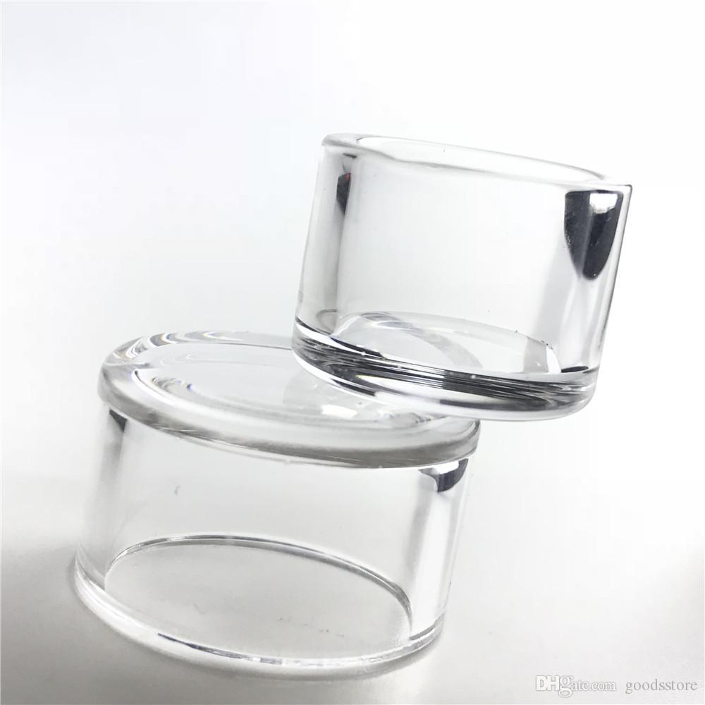 Piatto di inserto al quarzo di fondo spesso con narghilè 20mm 25mm per XL XXL Domeray Banger Nail Nail Cancella piatta intima piatta
