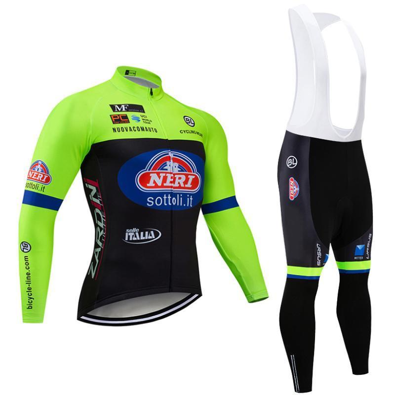 사이클링 저지 세트 2021 겨울 팀 세트 Sottoli 20D 젤 패드 자전거 바지 남성 ropa ciclismo 열 양털 자전거 마이 롯 쿠릴 슈트