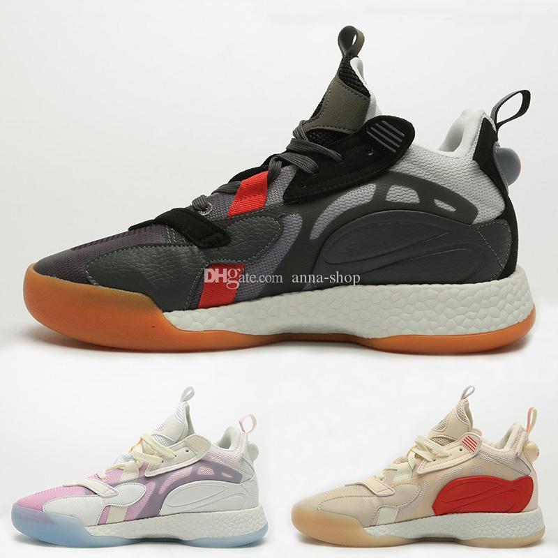 Marca Calçados Mens Zoneboost basquete para Sneaker Atlético Atletismo Chaussure Chaussures sapatos Homens Sports Homem Sapatilhas dos homens do esporte macho mid