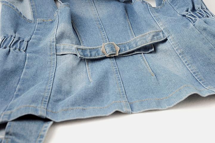 2018 summmer мода Винтаж джинсовый жилет Женские джинсы без рукавов топы плюс размер 2XL