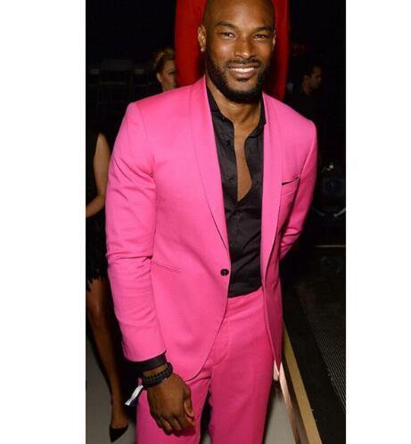 Hot Pink Châle Casual Hommes Costume Lapel 2 Pièces (veste + pantalon) Costume Homme Trajes De Hombre tuxedo Men Blazer terno mince