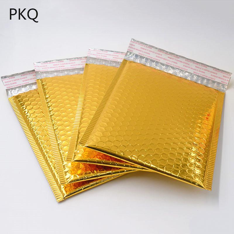 215X320mm Internal Size 100 Gold Padded Mailing Bubble Envelopes MP6