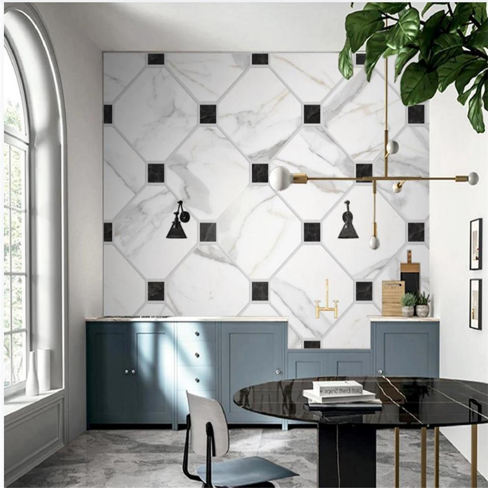 3D Wallpapers reticolo di fondo Moderna parete carta da parati per le pareti 3 d per soggiorno