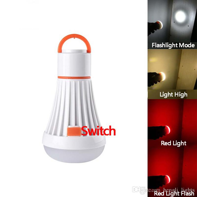 Portable Camping Light Use AAA/18650 4Modes 6Led 3W Flashlight Torch Lanterns Magnet Hanging Lamp Task Lighting For Camping Lamp SY0340