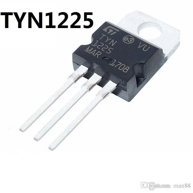 ST TYN1225 في اتجاه واحد الثايرستور 25A / 1200V في خط TO-220