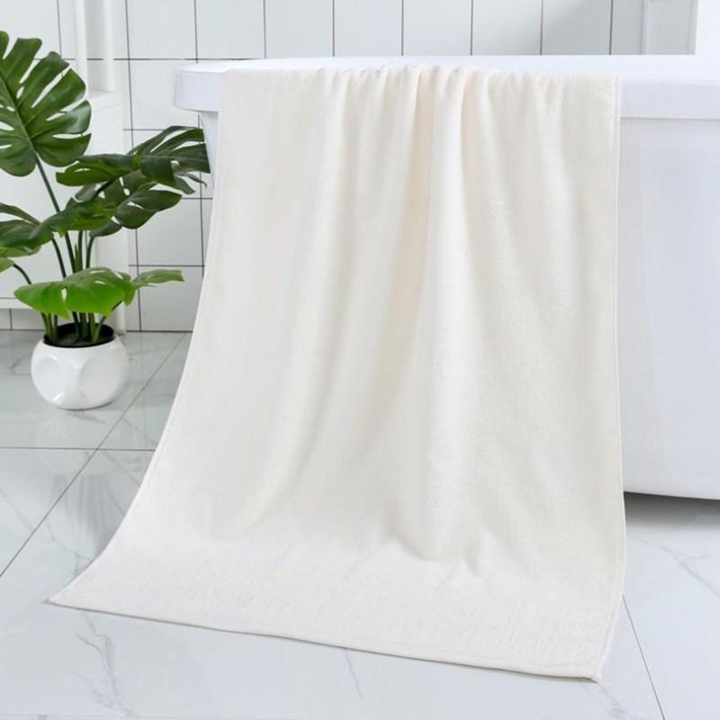 100% Baumwolltuch Badetuch Starke Wasseraufnahme weich Geeignet für Erwachsene und Kinder Color Einfarbig Vier Farben