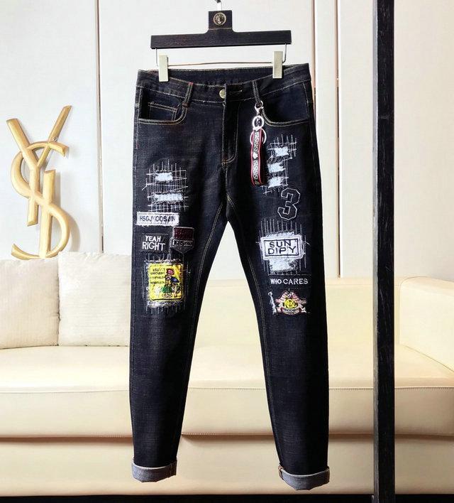 19ss европейские и американские шорты налить Hommes осень и зима мужская одежда мужские узкие джинсы мужские джинсы S дизайнер налить Hommes шорты брюки