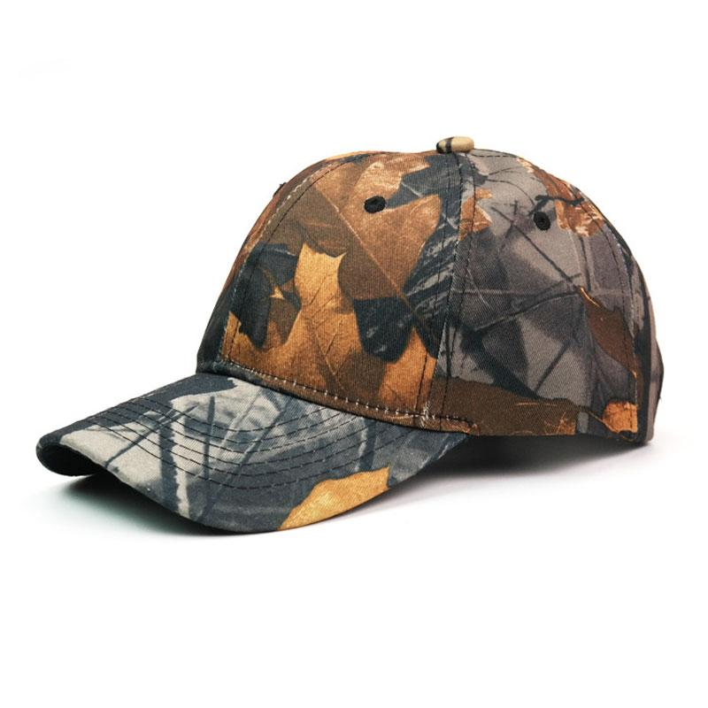 Outdoor Mens Military Bionic Camouflage Baseball Cap Jungle Tactical Hunting Hat for Hunter