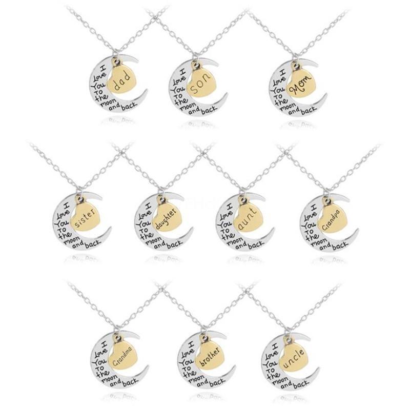 Dalla A alla Z 26 Lettera Nome Collana Donne Crystal Dalla collana di modo austriaco Cubic Zirconia Diy regalo # 461