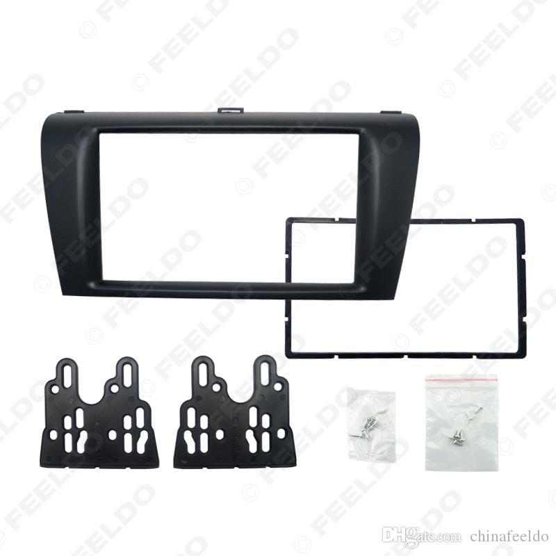 Car DVD/CD Radio Stereo Fascia Panel Frame Adaptor Fitting Kit For Mazda3 Installtion Kit#:4399