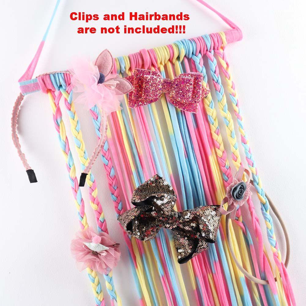 Clips Kids Belt Barrette Holder Hair Bows Storage Girls/' Hairband Organizer