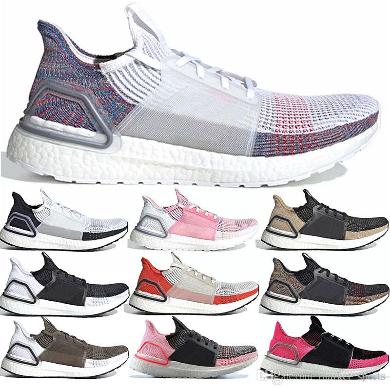 Rapide bateau parfait Ultra Boost 5.0 courir chaussures de marche 36-47 True Pink foncé Pixel menthe Vert Core noir baskets formateurs