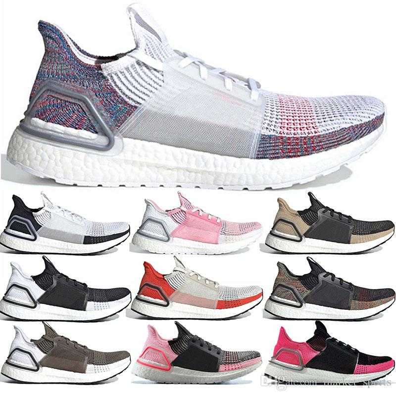 Fast ship perfect Ultra Boost 5.0 running jogging walking shoes 36-47 True Pink Dark Pixel Mint Green Core Black Brown sneakers trainers