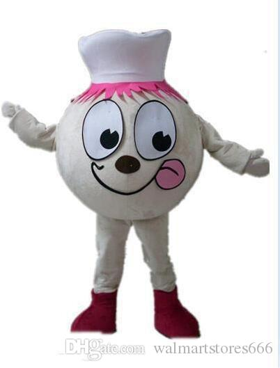 2019 High quality hot the head a burger mascot costume for adult to wear