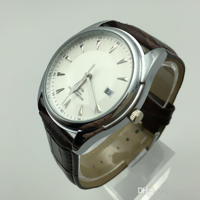 Commercio all'ingrosso - Orologio da uomo al quarzo top brand di marca OMG sport orologio al quarzo cinturino in pelle orologio da uomo impermeabile casual relogio mascul