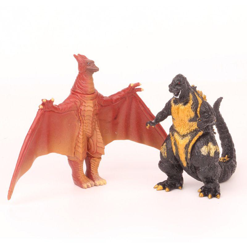8Pcs//set Godzilla2 Mini Action Figures King Ghidorah Godzilla 2019 Toys