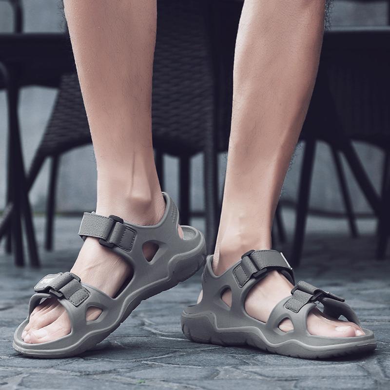 Hot Men/'s Leather Sandals Summer Open Toe Beach Sport Casual Sandal Shoes Size
