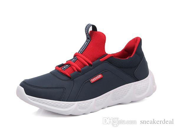 Mann-Mode-Mesh-Turnschuhe Männer Sport Schuhe Spitzen-Up Leichte Schuhe Männliche Schuhe De Mujer Training Schuhe Herren
