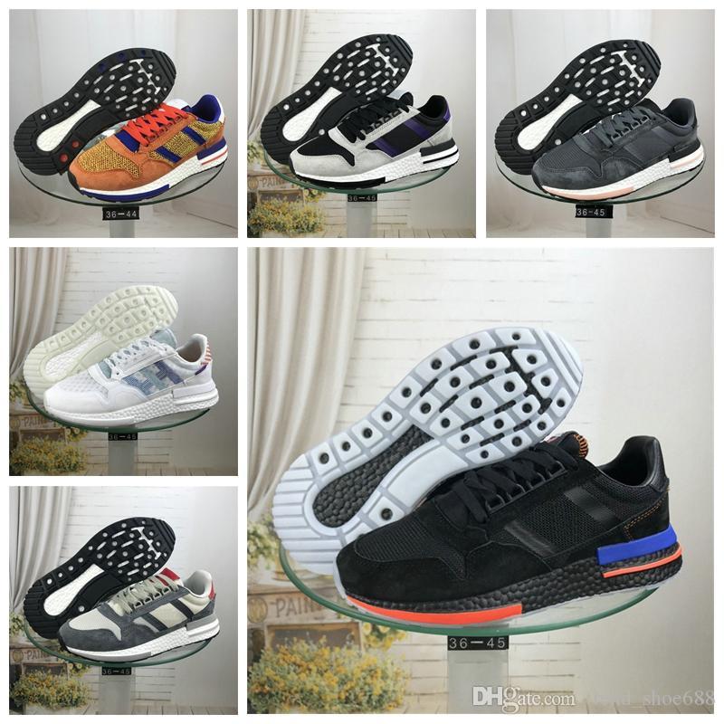 adidas ZX 500 ZX500 2019 nouvelle qualité ZX 500 RM mastermind Fils Goku Core Noir chaussures blanches Runner Primeknit Femmes HOMMES amant Sports Sneakers
