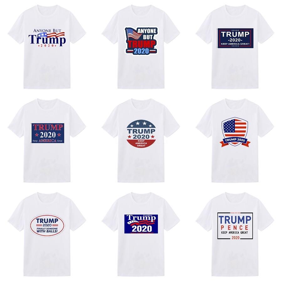 Новый Balr Дизайнер Трампа T Shirts Hip Hop Мужские дизайнерские Trump футболки тавра Mens женщин с коротким рукавом Большой размер Trump Тенниски # 181