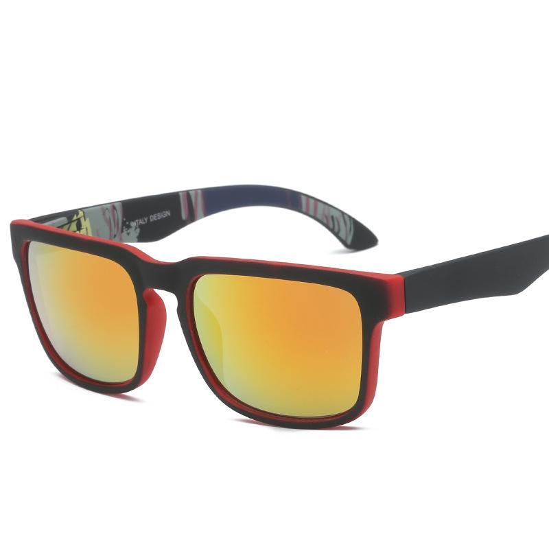 남성 여성 악어에 대한 여성의 럭셔리 명품 선글라스 브랜드 남성 빈티지 스퀘어 선글라스 렌즈 안경 액세서리 남성 태양 안경