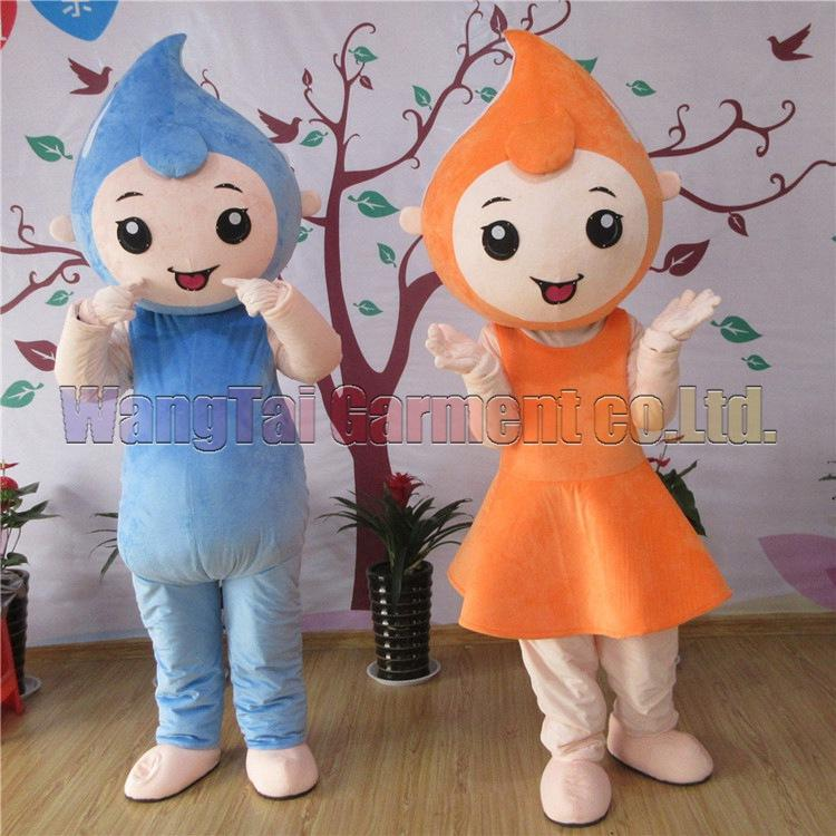 High quality Water Drop Mascot Costume Carnival branch Parade Quality Clowns Halloween party activity Fancy Outfit Free Shipping only one