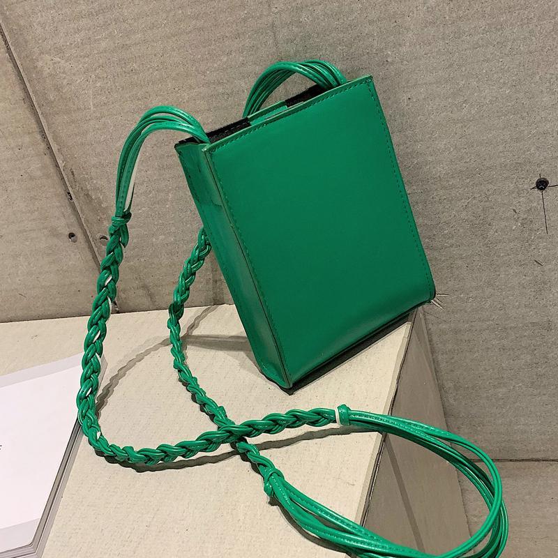 Elegante weibliche Mini-Telefon-Beutel 2019 Art und Weise neue Qualität PU-Leder-Frauen-Handtaschen-Freizeit Reisen Schulter Messenger Bag