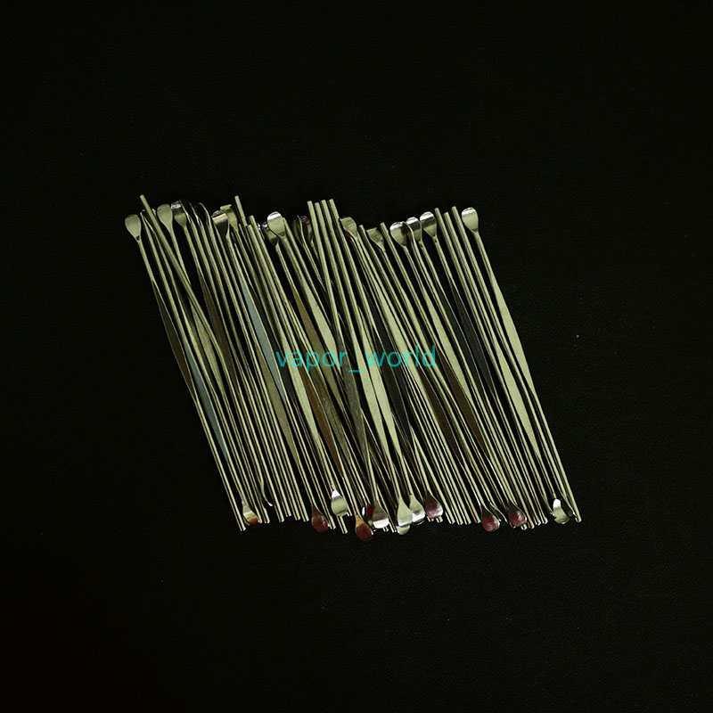 Strumento di cera in acciaio inox strumento elettronico sigaretta strumento metallo strumento dabber utensile titanio dabber nail per cera dry herb vapori fa g5 micro atomizzatore
