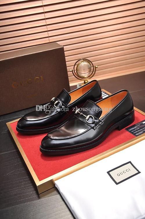 calzado casual al por mayor 2020 nuevos hombres de la marca de la llegada zapatos de cuero genuino de alta manera de la tapa negros blancos los hombres zapatillas de deporte de alta calidad ZSSG185