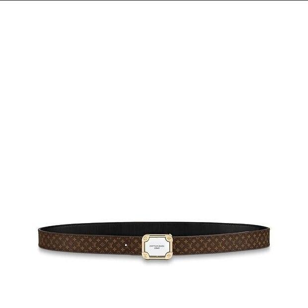 Double-sided M0125w Malletier 25 Mm New Belt Women Authentic Reversible Belt New Official Men Belt With Box