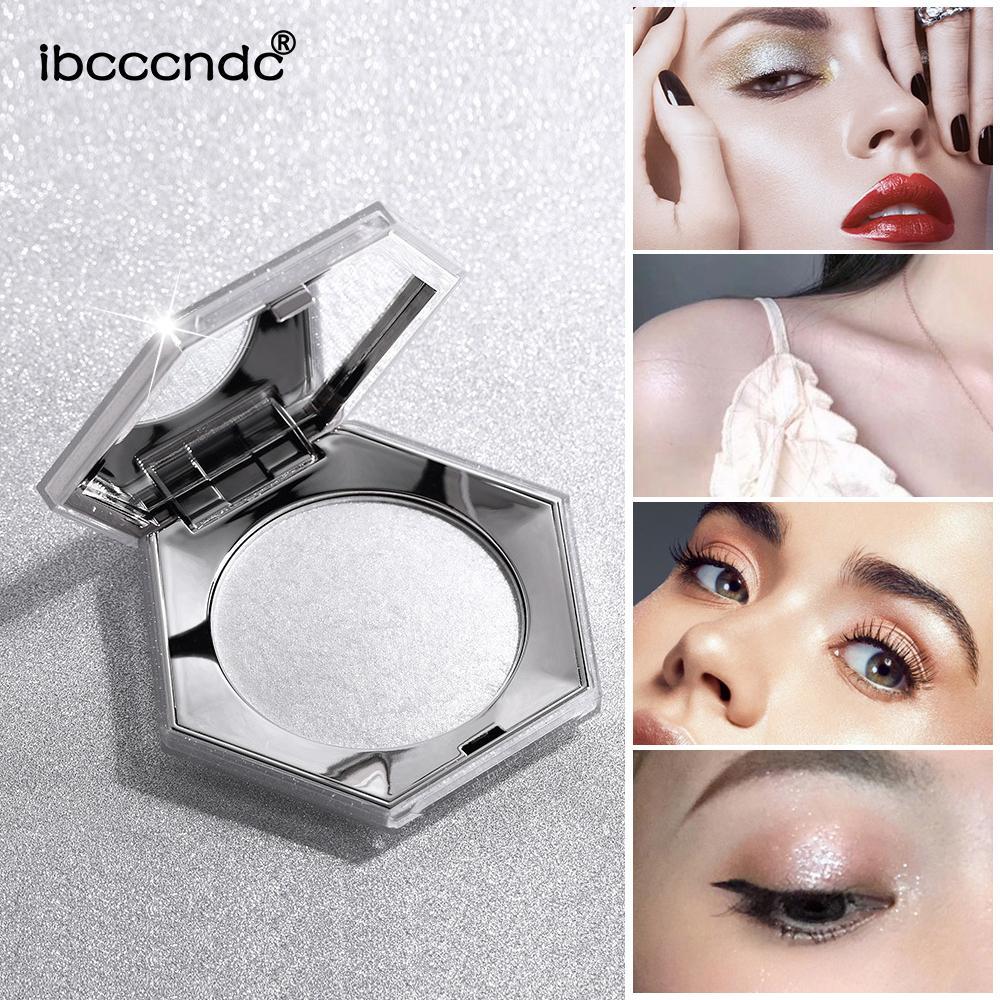 Brand Diamond Highlighter Palette Sparkling Facial Hightlight Makeup Glow Face Shimmer Powder Body Base Illuminator