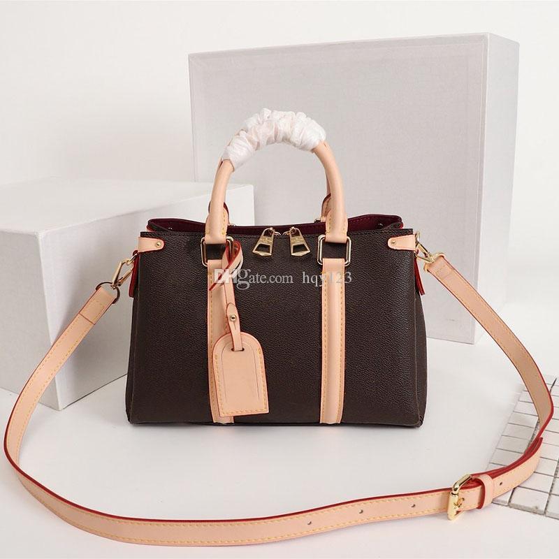 حقائب النساء المصممات الفاخرة حقائب النساء المصممات الأحدث وصول العلامة التجارية المصممات حقائب اليد مقاس 29x19x10 سم موديل M44815