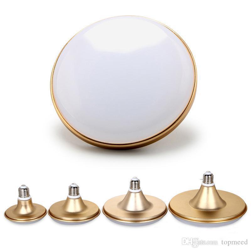 Горячая E27 Светодиодные лампы Свет 5630SMD 220V НЛО светодиодные лампы 12W 18W 24W 36W 50W IP60 Водонепроницаемый пылезащитный Лампада Bombilla свет